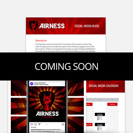 Airness Promotion Kit & Social Media Guide