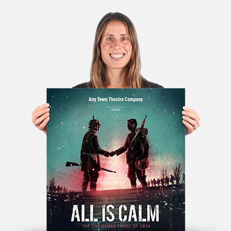 All Is Calm Official Show Artwork