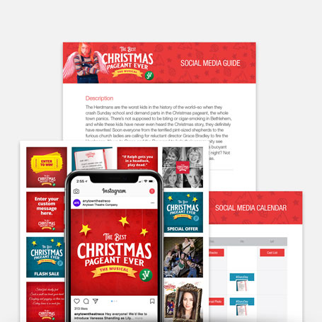 Best Christmas Pageant Ever, The JV Promotion Kit & Social Media Guide