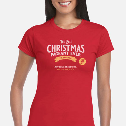 Best Christmas Pageant Ever, The JV Cast & Crew T-Shirts
