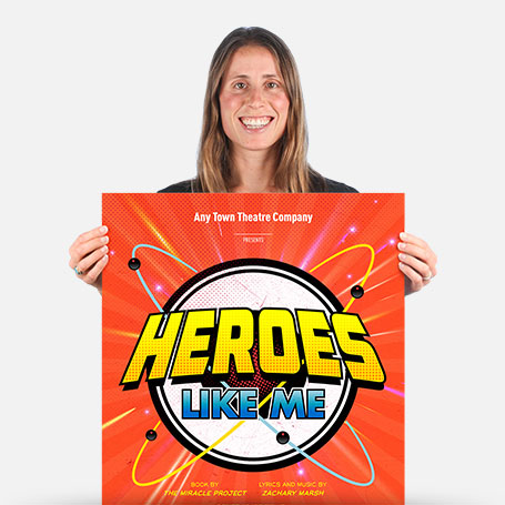 Heroes Like Me Official Show Artwork