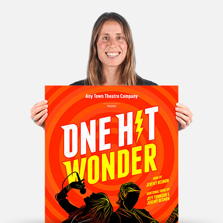 One Hit Wonder Official Show Artwork