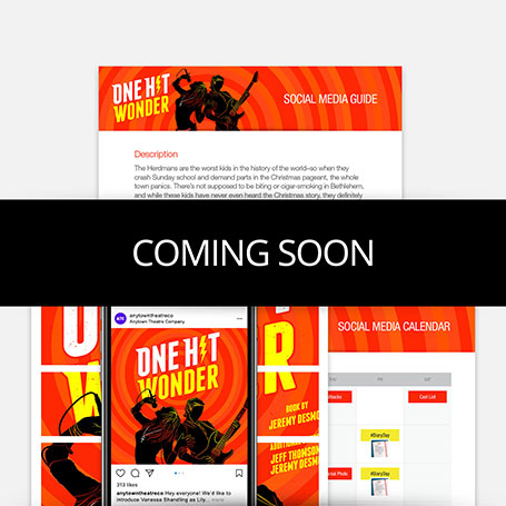 One Hit Wonder Promotion Kit & Social Media Guide