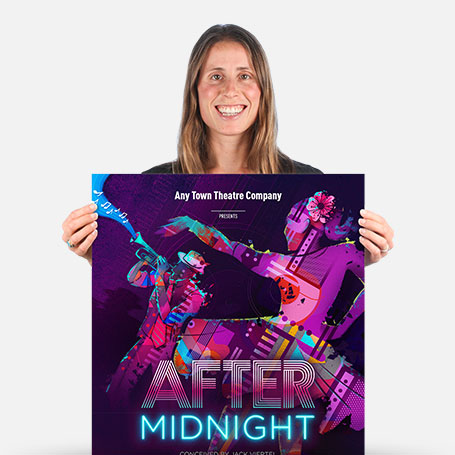 After Midnight Official Show Artwork