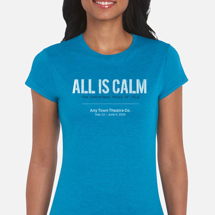 All Is Calm Cast & Crew T-Shirts