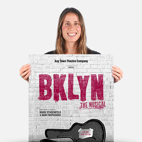 BKLYN the Musical Official Show Artwork