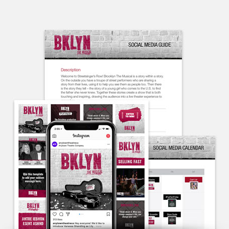 BKLYN the Musical Promotion Kit & Social Media Guide