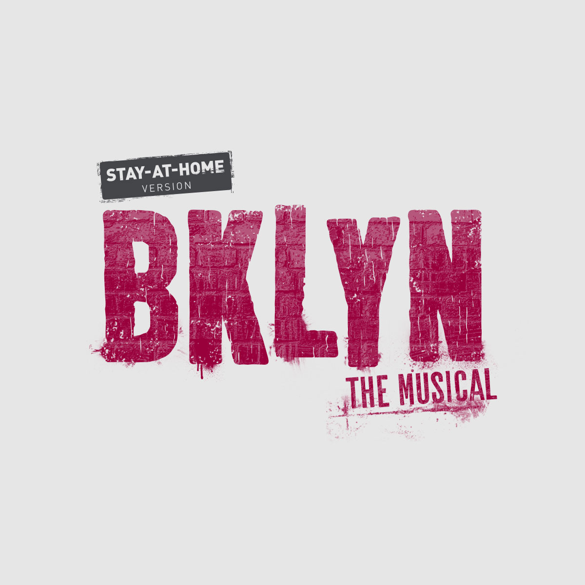 BKLYN the Musical Stay-At-Home Logo Pack