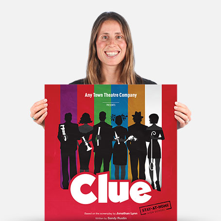 Clue Stay-At-Home (High School) Official Show Artwork