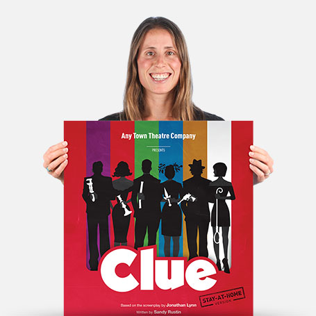 Clue Stay-At-Home Official Show Artwork