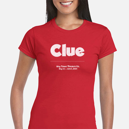 Clue Cast & Crew T-Shirts