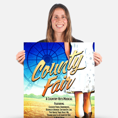 County Fair Official Show Artwork