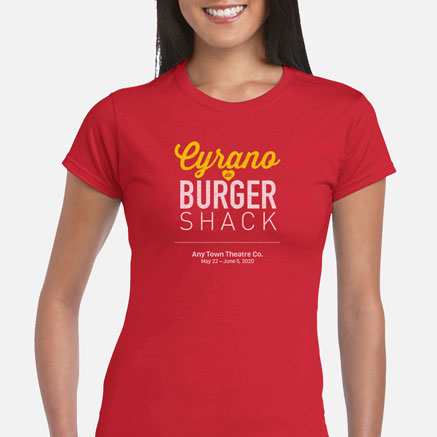 Cyrano de Burger Shack Cast & Crew T-Shirts
