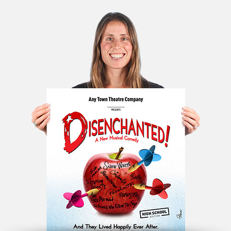 Disenchanted! (High School Edition) Official Show Artwork