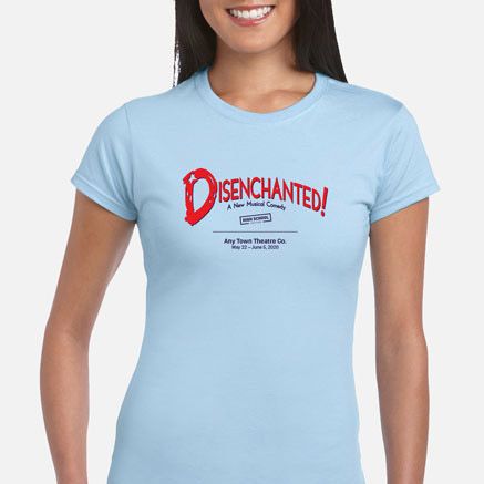 Disenchanted! (High School Edition) Cast & Crew T-Shirts