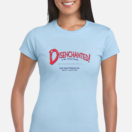 Disenchanted! Stay-At-Home Version Cast & Crew T-Shirts