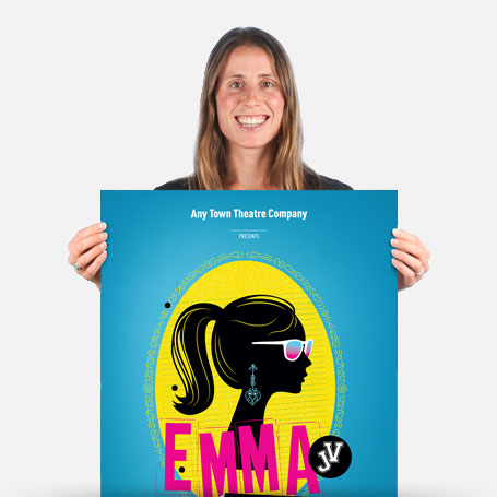 Emma: A Pop Musical JV Official Show Artwork