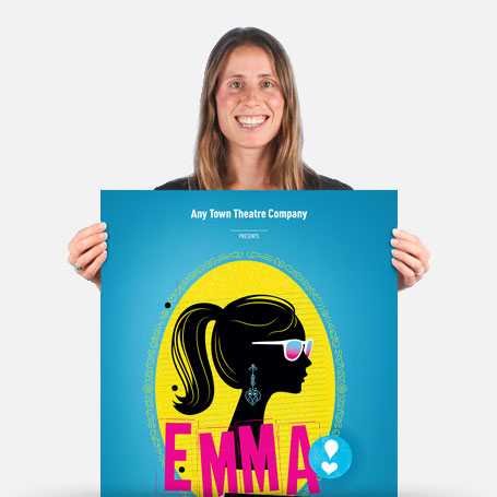 Emma: A Pop Musical Official Show Artwork