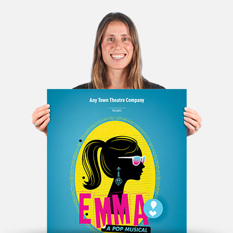 Emma: A Pop Musical Stay-At-Home Official Show Artwork
