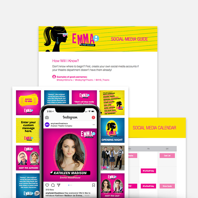 Emma: A Pop Musical Stay-At-Home Promotion Kit & Social Media Guide