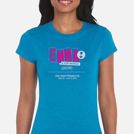 Emma: A Pop Musical Stay-At-Home Cast & Crew T-Shirts