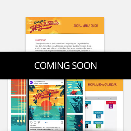 Escape to Margaritaville Promotion Kit & Social Media Guide
