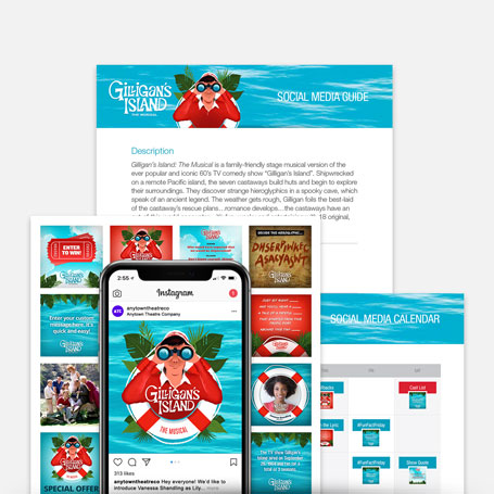 Gilligan's Island: The Musical Promotion Kit & Social Media Guide