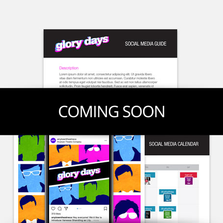 Glory Days Promotion Kit & Social Media Guide