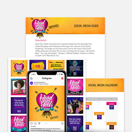 Head Over Heels (High School Edition) Promotion Kit & Social Media Guide