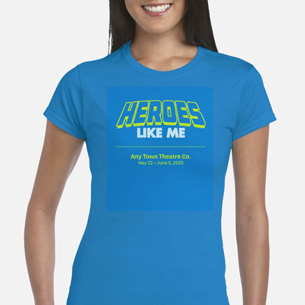 Heroes Like Me Cast & Crew T-Shirts