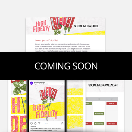 High Fidelity High School Edition Promotion Kit & Social Media Guide