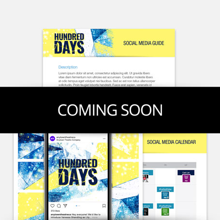 Hundred Days Promotion Kit & Social Media Guide