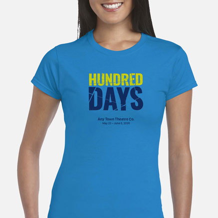Hundred Days Cast & Crew T-Shirts