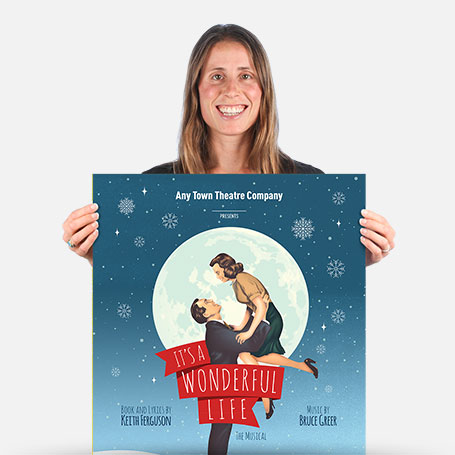 It's a Wonderful Life Official Show Artwork