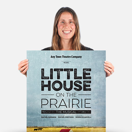 Little House on the Prairie Official Show Artwork