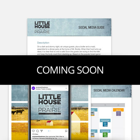 Little House on the Prairie Promotion Kit & Social Media Guide
