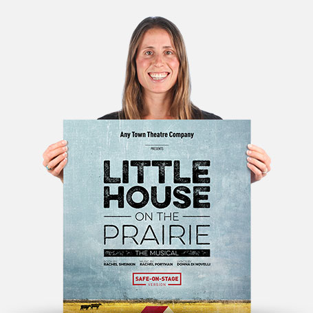Little House on the Prairie (Safe-On-Stage) Official Show Artwork