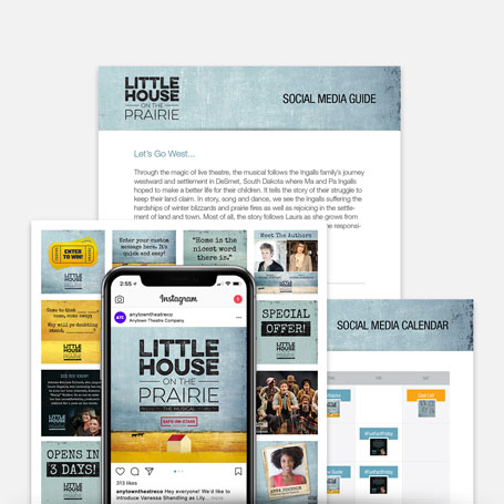Little House on the Prairie (Safe-On-Stage) Promotion Kit & Social Media Guide