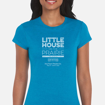 Little House on the Prairie (Safe-On-Stage) Cast & Crew T-Shirts