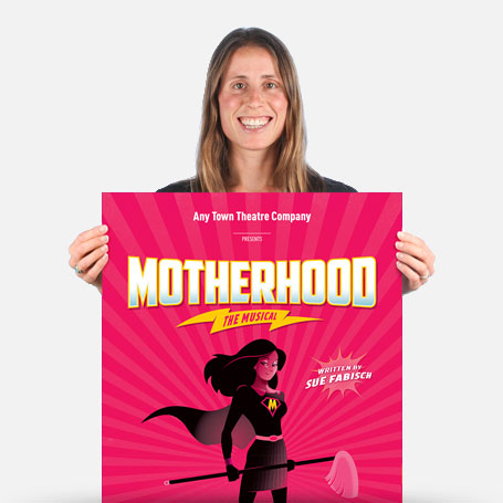 Motherhood The Musical Official Show Artwork