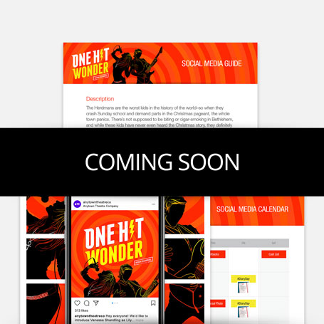One Hit Wonder (High School Edition) Promotion Kit & Social Media Guide