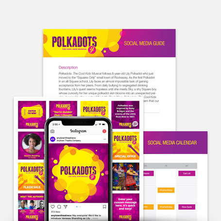 Polkadots: The Cool Kids Musical JV Promotion Kit & Social Media Guide