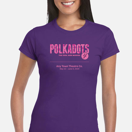 Polkadots: The Cool Kids Musical JV Cast & Crew T-Shirts