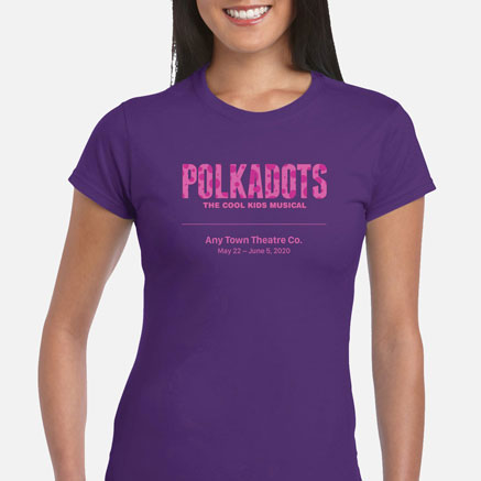 Polkadots: The Cool Kids Musical Cast & Crew T-Shirts