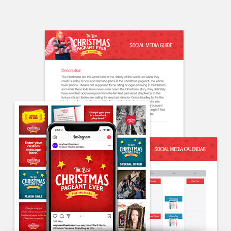 The Best Christmas Pageant Ever: The Musical Promotion Kit & Social Media Guide