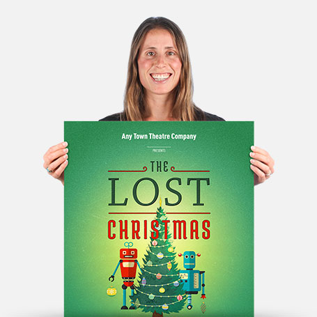 The Lost Christmas Stay-At-Home Official Show Artwork