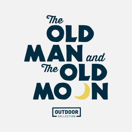 The Old Man and the Old Moon – Outdoor Collection Logo Pack