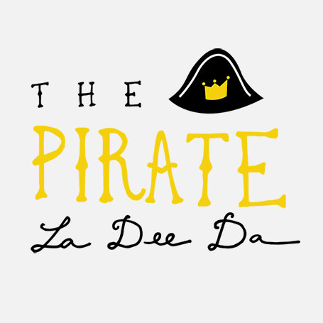 The Pirate La Dee Da Logo Pack