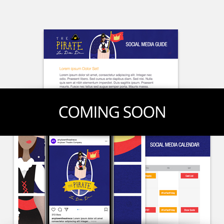 The Pirate La Dee Da Promotion Kit & Social Media Guide