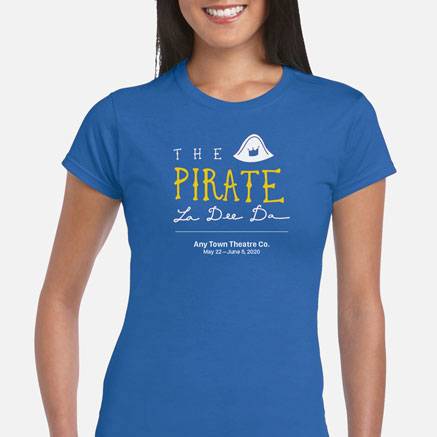 The Pirate La Dee Da Cast & Crew T-Shirts